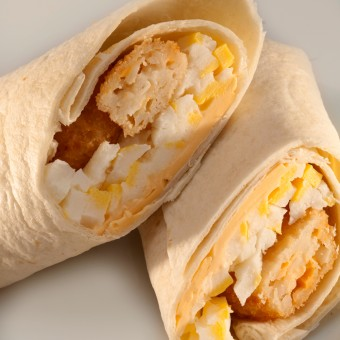 Egg Breakfast Wrap